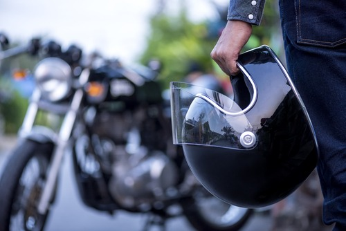 Motorcyclist back to riding after needing a motorcycle injury lawyer